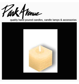 Park Avenue Candles Textured Square Candle | Champagne 4x4