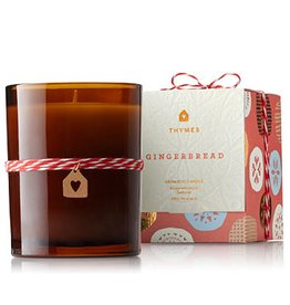 Thymes Gingerbread Poured Candle in Glass Votive 9.5oz