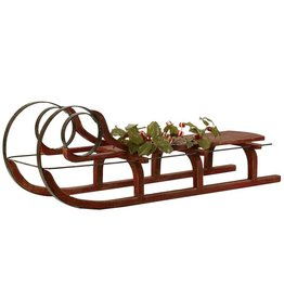 Mark Roberts Christmas Decorations Sleigh LG 39L Holiday Display Sled