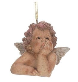 Mark Roberts Christmas Decorations Cherub Ornament Looking Up