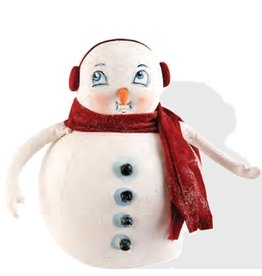Gallerie II Joe Spencer Gathered Traditions Collection Moe Snowman