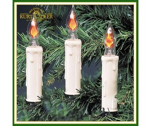 christmas lights flicker candle 7 light candle set digs n gifts