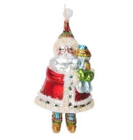 Ornament Glass Santa Snowbaby 36-34262-C
