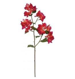 Winward Silk Flowers Artificial 95602.AB Bougainvillea American Beauty 34.5 inch
