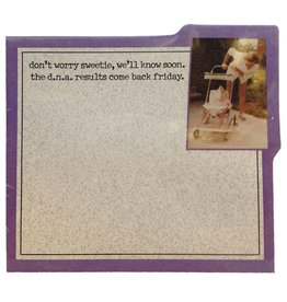 MikWright Greeting Cards Sticky Notes 40 ct DNA Results 415-01979 MikWright