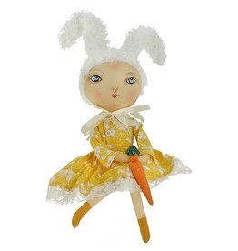 Gallerie II Joe Spencer Gathered Traditions Collection Rosalie Rabbit Girl Figurine FGS70793 Joe Spencer Decorations