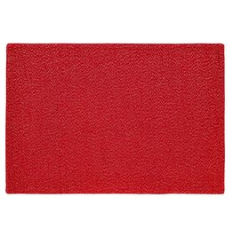 Harman Frosted Shimmer Red Metallic Thread Placemat 0837612 Harman