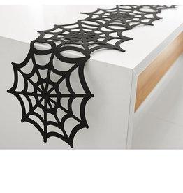 Harman Halloween Spider Web Felt Table Runner 1065907 Harman