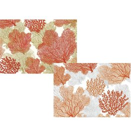 Caspari Blank Note Cards Set of 8 83620.46 Sea Fans Assorted