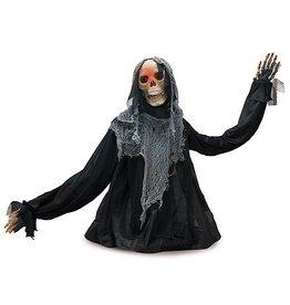 Burton and Burton Halloween Decoration Clap Activated Light Up Skeleton Table Piece