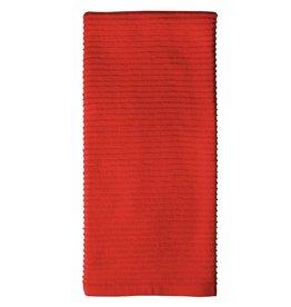 MUkitchen MÜkitchen Cotton Ridged Dish Towel 6615-1406 Fire Red