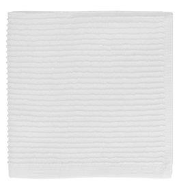 MUkitchen Cotton Ridged Dish Cloth - White