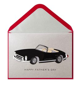 Papyrus Greetings Fathers Day Card for Dad Classic Black Car
