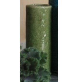 Kalalou Ceramic Bud Vase 6.5H inches Sm Forest Green
