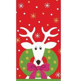 Caspari Paper Guest Napkins 11430G Dearie Deer 15pk