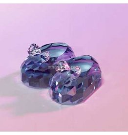 Crystal World Crystal Blue Booties Figurines 1121-BL by Crystal World