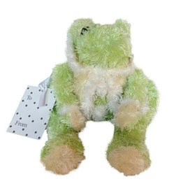 Bouquet and Company Stuffed Animal Frog Sm 10in D4718-Sm by Bouquet and Company