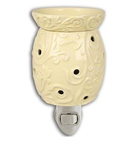 Boulevard Wax Melts Fragrance Warmer Plug-In Cream Acanthus