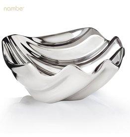 Nambe Oceana Sea Shell Dip Bowl MT0726 Nambe Serveware