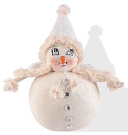 Gallerie II Joe Spencer Gathered Traditions Collection Mimi Snowball Girl Snow Woman FGS70026