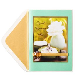Papyrus Greetings Mothers Day Card Refresh Rejuvenate Relax by Papyrus Greeting Cards
