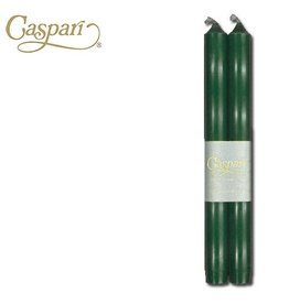 Caspari Crown Candle Tapers CA13.2 Hunter Green Candle 10 inch Set of 2