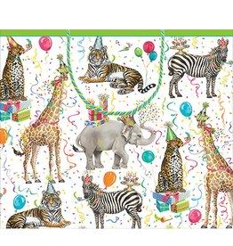 Caspari Gift Bag Party Animals Gift Bag Lg 8911B3