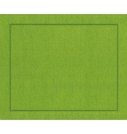 Caspari Placemats Paper Linen 11371PM Moss Green Place Mats Roll of 10