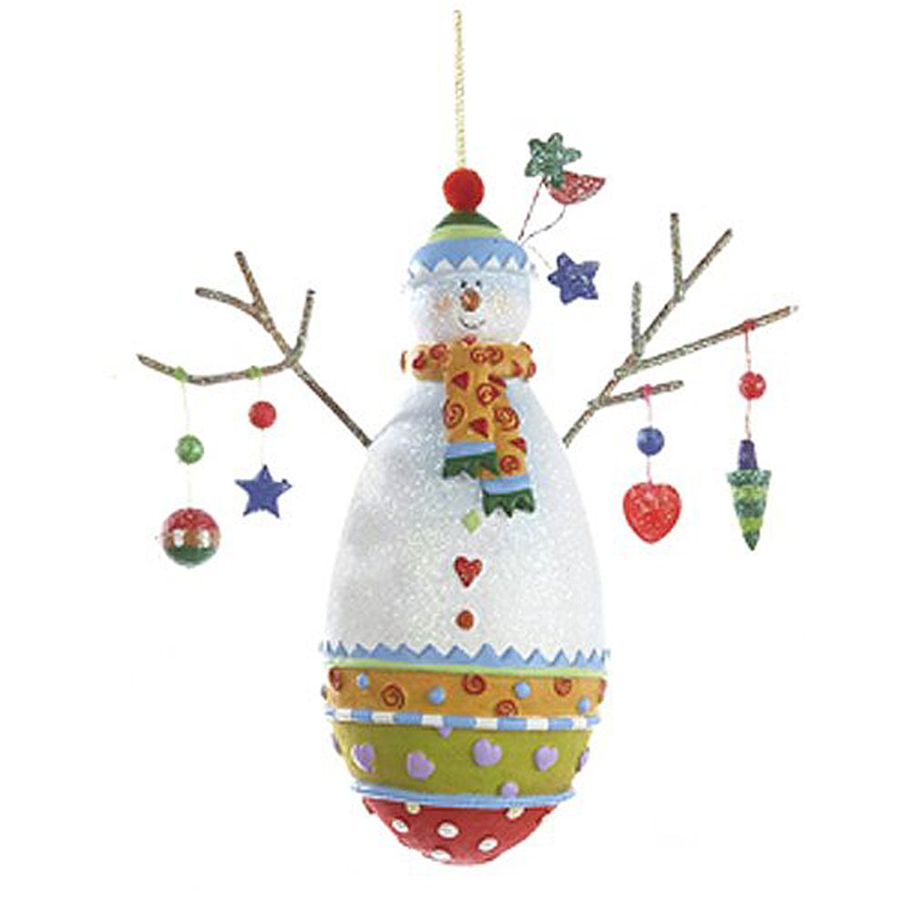 kurt adler snowman ornament c8402 b christmas ornament kurt adler