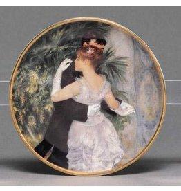 Artis Orbis Mini Plate | Artis Orbis Renior 126562 Dance in the City