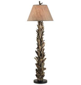 Currey and Company Driftwood Floor Lamp 8029 Lamps Lighting Currey Company