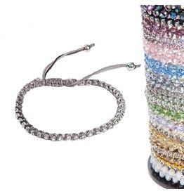 Jacqueline Kent Jewelry Sweet Petite Bracelet Silver Gray JKB166GY Jacqueline Kent Jewelry