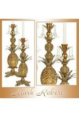 Mark Roberts Stylish Home Decor Pineapple Candle Holder 21H