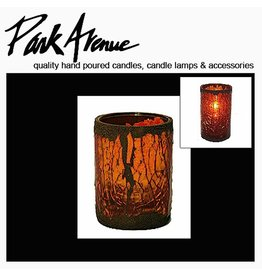 Park Avenue Candles Cathedral Glass Votive Candle Holder 6H