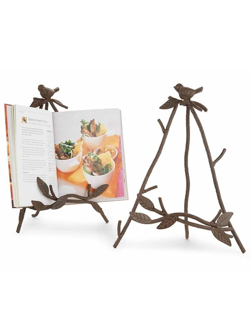 Ipad Easel cast iron bird easel for ipad books frames 4264020 mud pie - digs