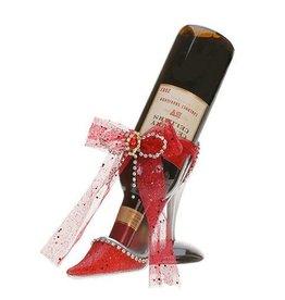 Mark Roberts Stylish Home Decor Red Windsor Shoe Wine Bottle Holder