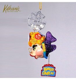 Katherine's Collection Kissing Fish Ornaments Bingo