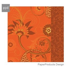 PPD Paper Product Design Napkins 6097 Velvet Paisely Cocktail Napkins