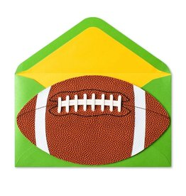 Papyrus Greetings Fathers Day Card for Dad Football by Papyrus