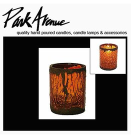 Park Avenue Candles Cathedral Glass Votive Candle Holder 4.5H