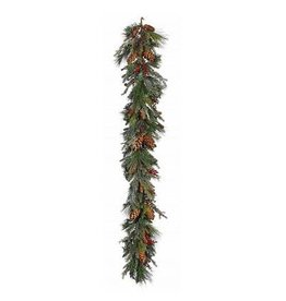 Winward Christmas Decor Piney Woods Garland 72L