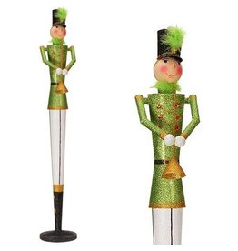 Mark Roberts Christmas Decorations Glittered Nutcracker Figurine 36in