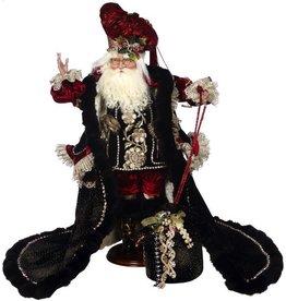 Mark Roberts Fairies Santas 51-68324 Bejeweled Santa 26 inch on Wood Base