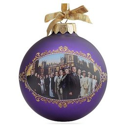 Kurt Adler Downton Abbey Season 1 Glass Family Ball Christmas Ornament DA4133