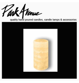 Park Avenue Candles Textured Pillar Candle | Champagne 6x3
