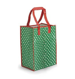 Burton and Burton Gift Bag Christmas 9713901-G Poly Nylon Green Tote