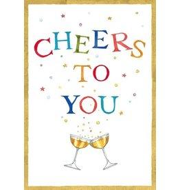Caspari Anniversary Card 82451.03 Cheers To You