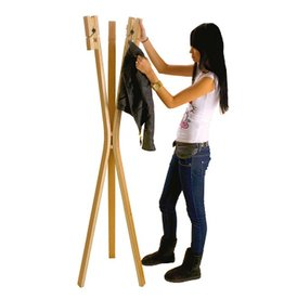 Leitmotiv Coat Rack Coat Hanger Clothes Pin by Leitmotiv