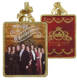 Kurt Adler Downton Abbey Glass Family Portriat Christmas Ornament DA4131