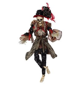 Mark Roberts Fairies Halloween Skeletons 51-68164 Mr Vogue Skeleton 20 inch
